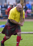 比赛高地苏格兰 图库摄影
