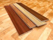 楼层木头 库存图片