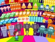 选择孩子玩具 免版税库存照片