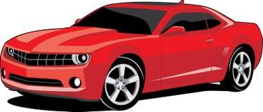 汽车红色 免版税库存图片