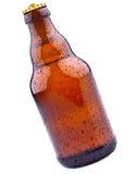 啤酒瓶褐色德语 免版税库存照片