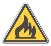 火 向量例证