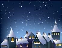 πόλης χειμώνας Στοκ εικόνες με δικαίωμα ελεύθερης χρήσης