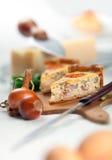 法国洛林乳蛋饼 免版税库存照片