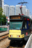 香港轻的铁路运输 免版税库存照片