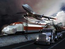 μεταφορές Στοκ φωτογραφία με δικαίωμα ελεύθερης χρήσης