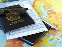 商务旅游 免版税库存照片