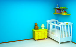 δωμάτιο μωρών Στοκ Φωτογραφία