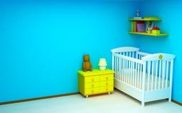комната младенца Стоковая Фотография