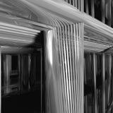 σύγχρονη δομή μετάλλων λεπτομέρειας Στοκ Εικόνα