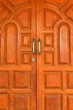 древесина двери Стоковое Фото
