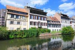страсбург Франции маленькая Стоковое фото RF
