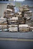纸浪费 免版税图库摄影