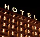 旅馆符号 免版税图库摄影