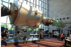 航空博物馆国民空间 免版税库存照片