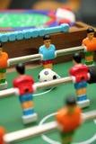 比赛足球表 免版税图库摄影