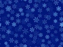 вектор снежинок прозрачный Стоковые Изображения