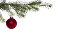 球圣诞节 免版税库存图片