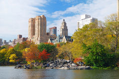 中心城市新的公园约克 免版税库存图片