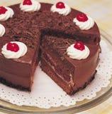 σοκολάτα κέικ Στοκ φωτογραφίες με δικαίωμα ελεύθερης χρήσης