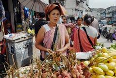 индийский рынок Стоковое фото RF