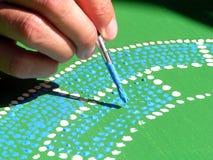 αυτόχθων ζωγραφική Στοκ φωτογραφία με δικαίωμα ελεύθερης χρήσης
