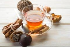 加香料的茶 免版税库存图片