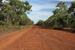 在内地澳大利亚路 免版税图库摄影