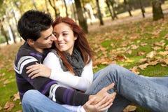 喜爱夫妇爱年轻人 图库摄影