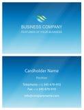 Πρότυπο στοιχείων σχεδίου καρτών επιχειρησιακής επίσκεψης Στοκ Φωτογραφία