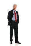 положение бизнесмена Стоковое фото RF