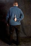 умышленное убийство к Стоковое Фото