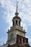 башня независимости залы колокола Стоковое Изображение RF