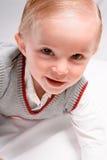 微笑的小孩 图库摄影