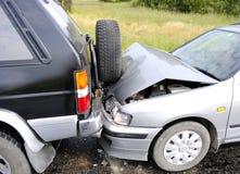автомобиль аварии Стоковые Фотографии RF