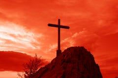 перекрестный красный цвет Стоковое Фото