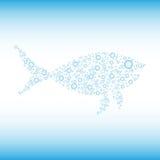 泡影您设计的鱼 免版税库存图片
