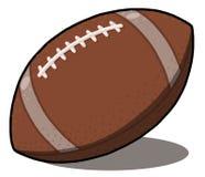 иллюстрация футбола американского шарика Стоковые Изображения RF