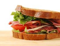新鲜的三明治 免版税库存照片