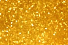 金黄的闪烁 免版税库存图片