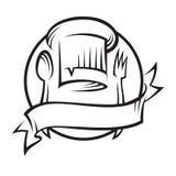 ложка шлема вилки шеф-повара Стоковая Фотография