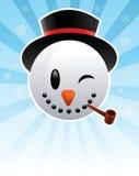 снежок человека Стоковые Изображения RF