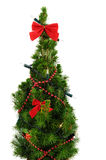 圣诞节小的结构树 免版税库存图片