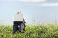 企业移动电话 免版税库存图片