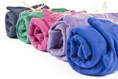 极性五颜六色的羊毛 库存图片