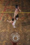 魔术篮球 免版税库存图片