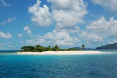 海岛天堂 库存照片