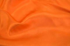 橙色丝绸 库存照片