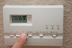 θερμοστάτης Στοκ Εικόνα