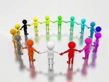 ομάδα πολύχρωμη Στοκ εικόνες με δικαίωμα ελεύθερης χρήσης